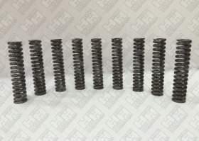 Комплект пружинок (9шт.) для гусеничный экскаватор JCB JS200 (LSP0109)